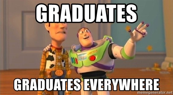 Consequences Toy Story - Graduates Graduates everywhere