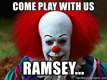 Pennywise the Clown - Come play with us Ramsey...