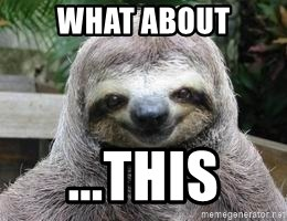 Sexual Sloth - What about ...This