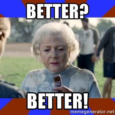 Snickers - Better? better!