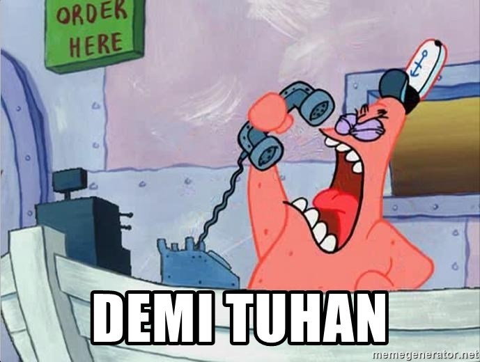 THIS IS PATRICK -  demi tuhan