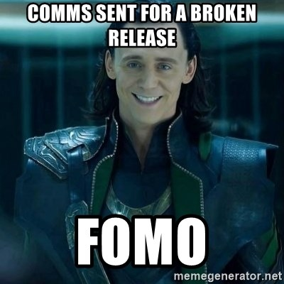 Tinichniy Loki - COMMS SENT FOR A broken release FOMO
