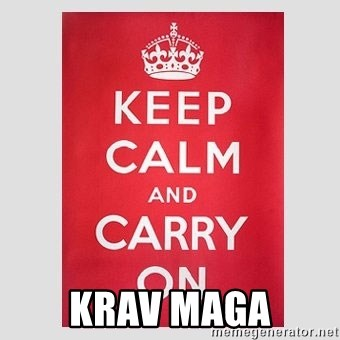 Keep Calm - KRAV MAGA