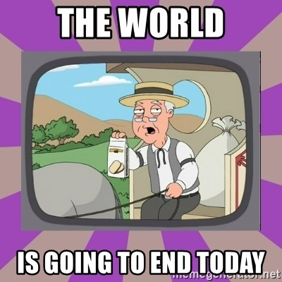 Pepperidge Farm Remembers FG - THE WORLD IS GOING TO END TODAY