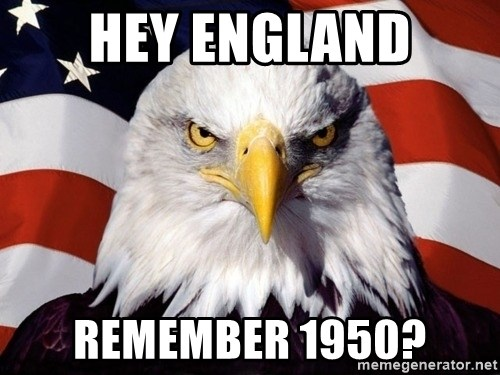 American Pride Eagle - hey england remember 1950?
