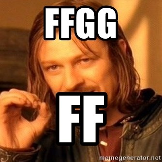 One Does Not Simply - ffgg ff