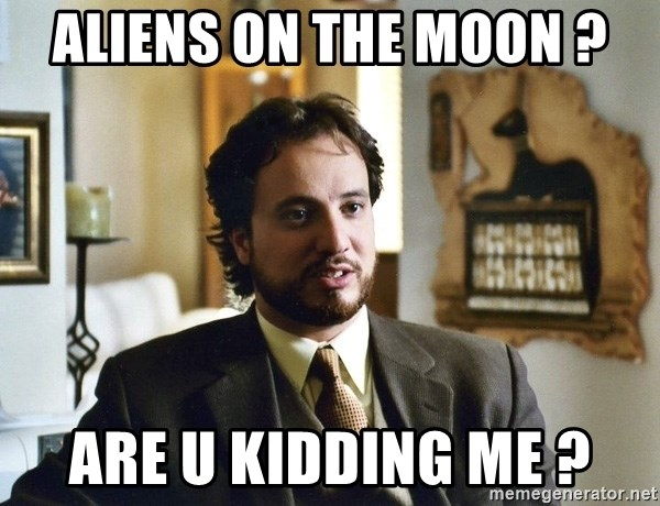 Giorgio Tsoukalos - Aliens on the moon ? Are u kidding me ?
