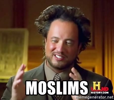 Ancient Aliens -  Moslims