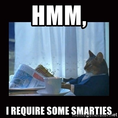 i should buy a boat cat - Hmm, I require some smarties
