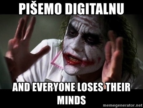 joker mind loss - Pišemo digitalnu and everyone loses their minds