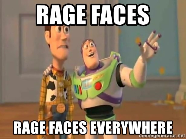 X, X Everywhere  - RAGE FACES RAGE FACES EVERYWHERE