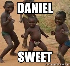 african children dancing - daniel sweet