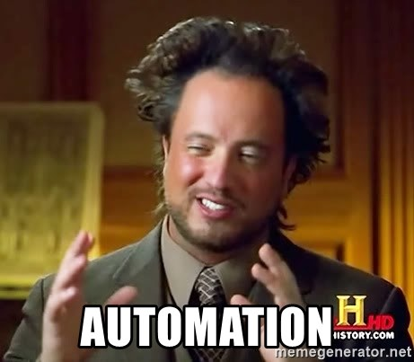 Ancient Aliens -  Automation
