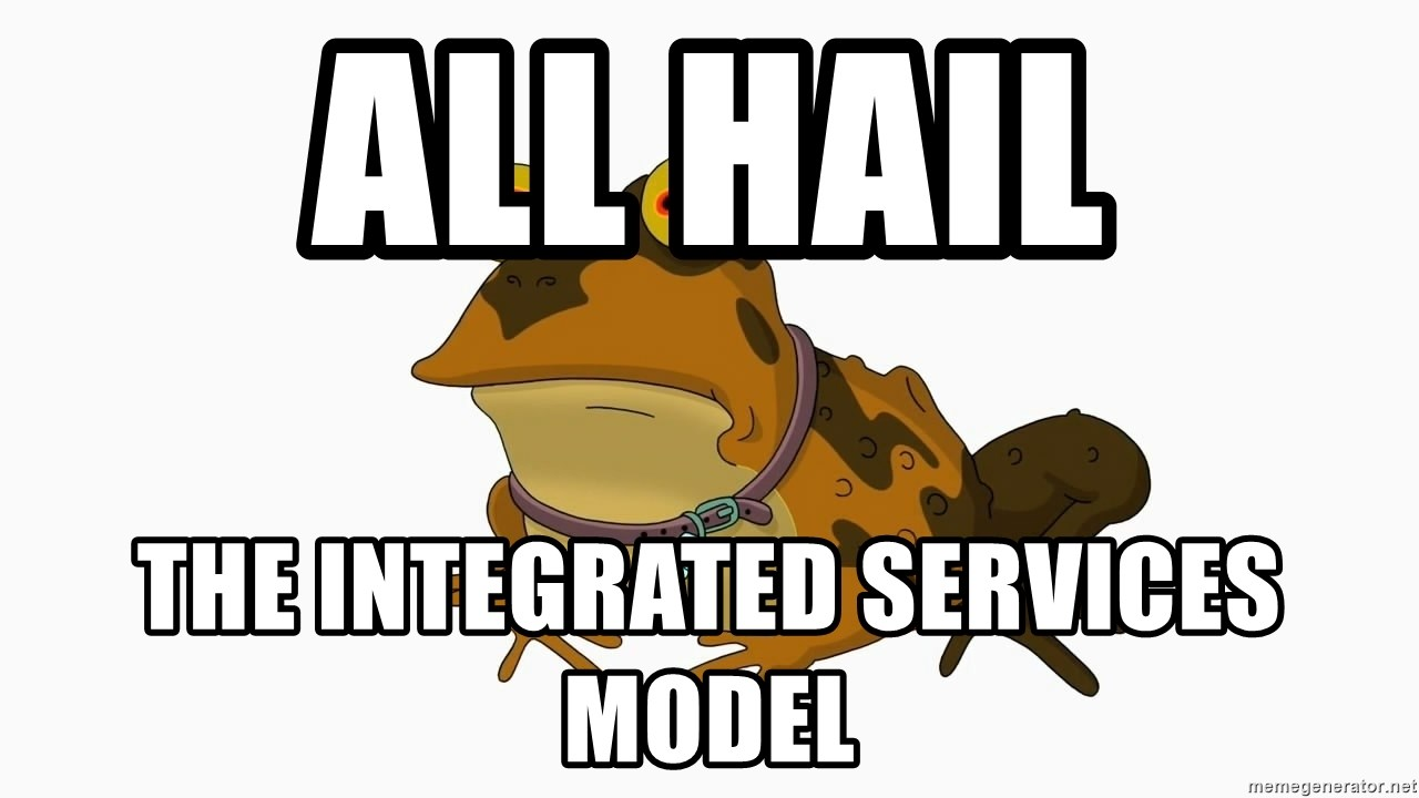hypnotoad - all hail the integrated services model