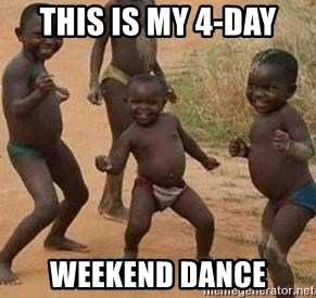 african children dancing - this is my 4-day weekend dance