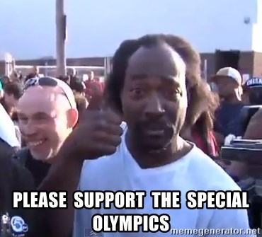 charles ramsey 3 -    Please  support  the  Special olympics