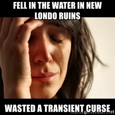 crying girl sad - fell in the water in new londo ruins wasted a transient curse