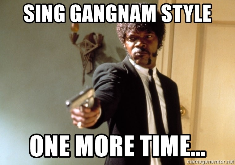 Samuel L Jackson - Sing Gangnam Style One More Time...