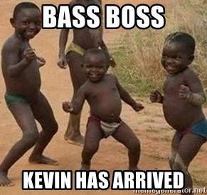 african children dancing - bass boss kevin has arrived