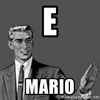 Correction Guy - e Mario