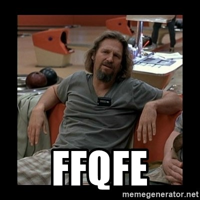 The Dude -  ffqfe