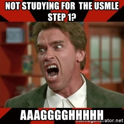 Arnold Schwarzenegger 1 - not studying for  the usmle step 1? aaagggghhhhh