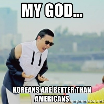Gangnam Style - my god... koreans are better than americans