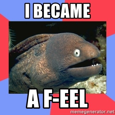 Bad Joke Eels - I BECAME A F-EEL