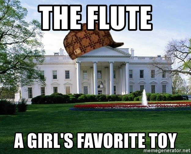 scumbag whitehouse - THE FLUTE A GIRL'S FAVORITE TOY