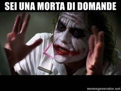 joker mind loss - sei una morta di domande