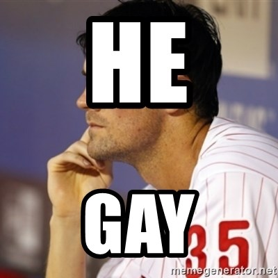 Thinking Hamels - He Gay
