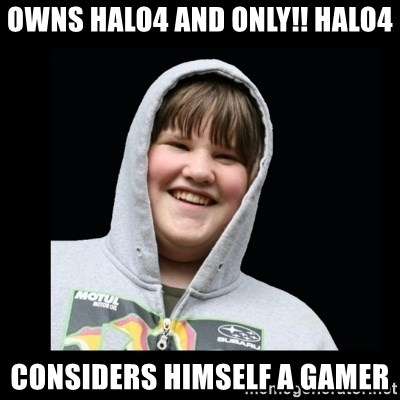 Samin makro - OWNS HALO4 AND ONLY!! HALO4 CONSIDERS HIMSELF A GAMER