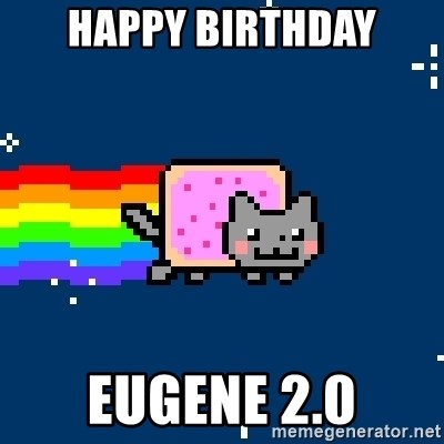 Nyancat - Happy Birthday Eugene 2.0