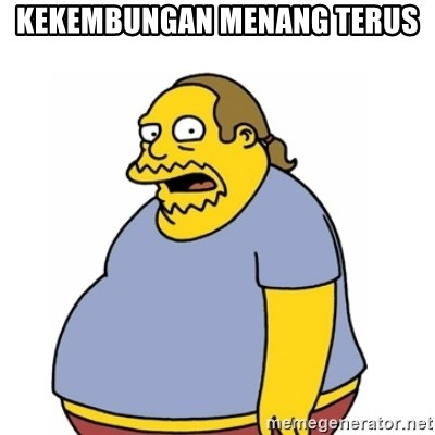 Comic Book Guy Worst Ever - kekembungan menang terus