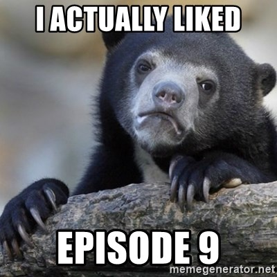 Confession Bear - I actually liked Episode 9
