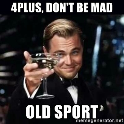 Gatsby Gatsby - 4plus, don't be mad Old sport