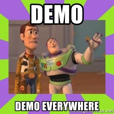 X, X Everywhere  - DEMO DEMO EVERYWHERE