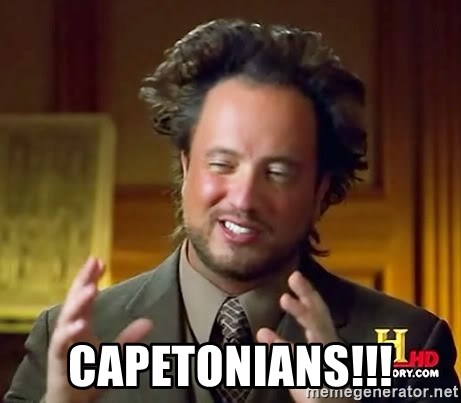 Ancient Aliens -  capetonians!!!