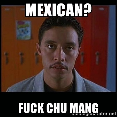 Mexican Fuck Chu Mang Vote For Pedro
