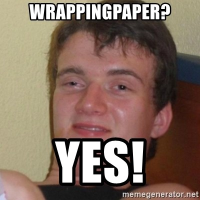 Stoner Stanley - wrappingpaper? yes!
