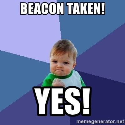 Success Kid - Beacon taken! Yes!