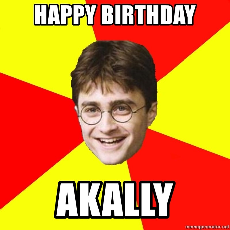 Happy Birthday Akally