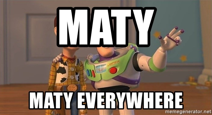 ORIGINAL TOY STORY - maty maty everywhere