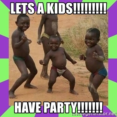 african kids dancing - LETS A KIDS!!!!!!!!! HAVE PARTY!!!!!!!