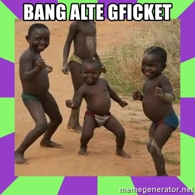african kids dancing - BANG ALTE GFICKET