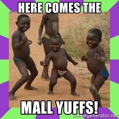 african kids dancing - Here comes the Mall Yuffs!