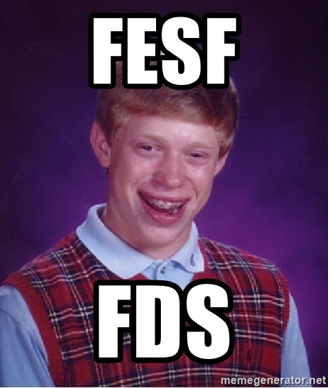 Bad Luck Brian - fesf fds