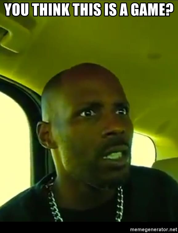 Dmx You Think This Is A Game GIFs | Tenor