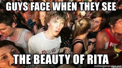 -Sudden Clarity Clarence - GUYS FACE WHEN THEY SEE THE BEAUTY OF RITA