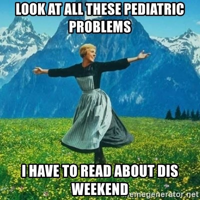 Look at All the Fucks I Give - look at all these pediatric problems i have to read about dis weekend
